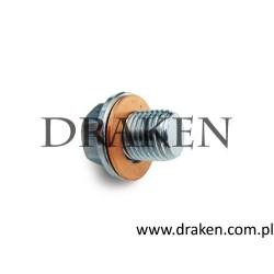 Śruba spustu oleju z uszczelką 9-5 2002-2005 3.0TiD Diesel