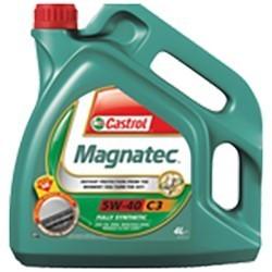Olej CASTROL MAGNATEC 5W40 Syntetyk 9-3, 9-5 1.9TID, 1.9TTID DIESEL 4l