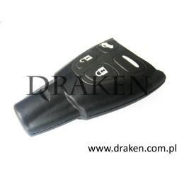 Kluczyk (klucz) 9-3 2003-2012 (gumowe przyciski, bez logo)