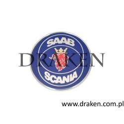 """Emblemat na maskę 900, 9000, 900NG, 9-3 1998-2002 """"SAAB-SCANIA"""""""