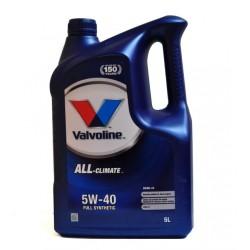Olej VALVOLINE ALL CLIMATE 5W40D 5L