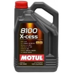 Olej MOTUL 8100 X-cess 5W40 5L