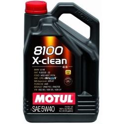 Olej MOTUL 8100 X-clean 5W40 C3 5L