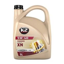 Olej K2 TEXAR PREMIUM XN 5W40 5L