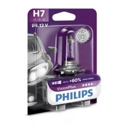 Żarówka lamp przednich H7 55W 12V PHILIPS VISION PLUS 9-3, 9-5
